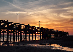 Pier2 (Anthony Pipe) Tags: red canon7d florida sunset beach gulfofmexico newportrichey anclote pier boats