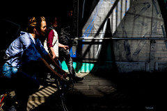 The three Musketeers-DSC_8102 (thomschphotography3) Tags: streetphotography light shadows people woman three cologne germany colours graffiti