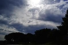 Sunbeams (Aiducha) Tags: sunbeams rayosdesol clouds nubes beach blue playa azul nikon cielo sky