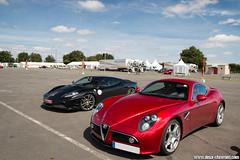 Sport & Collection 2014 - Alfa Romeo 8C Competizione & Ferrari 430 Scuderia (Deux-Chevrons.com) Tags: alfaromeo8ccompetizione alfaromeo 8ccompetizione alfa romeo 8c competizione ferrari430scuderia ferrari 430 scuderia f430 430scuderia ferrari430 ferrarif430 supercar sportcar gt exotic exotics car coche voiture auto automobile automotive sportcollection levigeant valdevienne circuitduvaldevienne france
