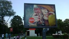 Bilboard, Coca Cola, maj 2017 (Milan Milan Milan) Tags: coca cola koka kola кока кола ада циганилија ada ciganlija bilboard reklamni pano reklama