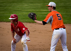 NYSPHSAA 2017 Section 7 Class B Championship (Cirdon) Tags: championship spring sectionvii phs baseball plattsburgh plattsburghhighschool newyork outdoor saranac sectionals ny 2017 nysphsaa fieldhouse firstbase chipcummingsfield sunyplattsburgh sunny classb highschool sports playoffs sunyac locations ncaa league