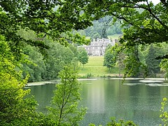 Bowhill House, Selkirk, Scotland (Colin McLurg) Tags: bowhill park lake scotland selkirk forrest trees countryhouse country house colinmclurg