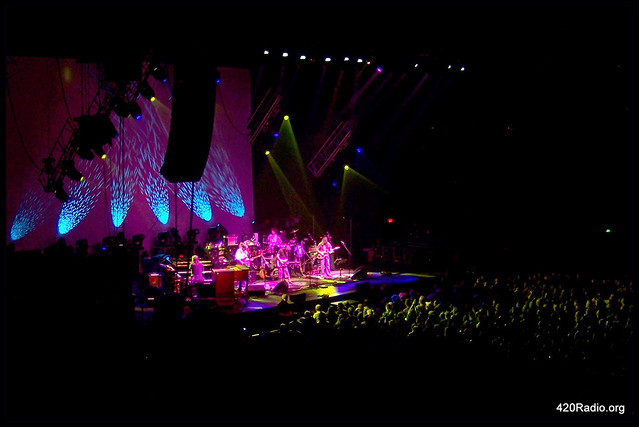 Furthur - Veterans Memorial Colisuem - Portland, Oregon - 11/11/10