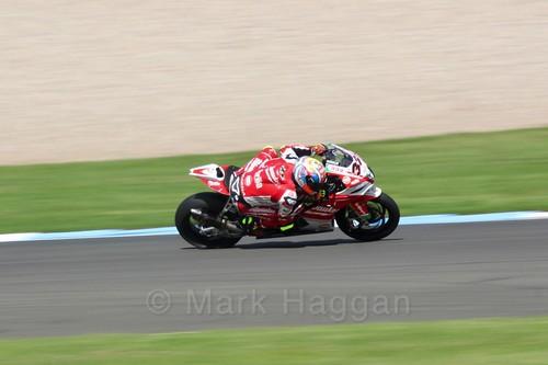 Lorenzo Savadori in World Superbikes at Donington Park, May 2017