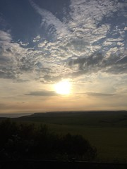 Sunset (My photos live here) Tags: eastbourne east sun sunset clouds sky evening sussex england i phone 5s beachy head downland estate chalk south downs national park