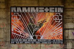 Rammstein - Paris (Frank Guschmann) Tags: plakat rammstein ubhfwalterschreiberplatz werbung frankguschmann nikond500 d500 nikon dvd bluray flake