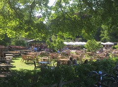 Biergarten Gasterej Kruisberg (leo.laempel) Tags: niederlande wijkaanzee noordhollandsduinreservaat gaststätte