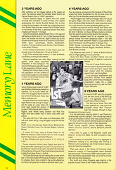 Norwich City vs Luton Town - 1991 - Page 14 (The Sky Strikers) Tags: norwich city luton town barclays league division one carrow road official matchday programme pound twenty