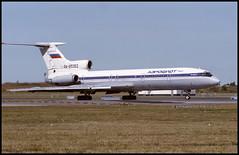 RA-85363 - Copenhagen Kastrup (CPH) 20.08.1995 (Jakob_DK) Tags: 1995 cph ekch storemagleby stmagleby tupolev tupolev154 tupolev154b tupolev154b2 tu154 tu154b tu154b2 careless afl aeroflot aeroflotrussianairlines