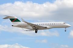 LX-ZAK Bombardier Global 6000 at CYYZ (yyzgvi) Tags: lxzak bombardier bd7001a10 global 6000 silver arrows jet luxembourg prince karim aga khan cyyz toronto ismaili flag
