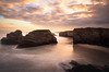 Asturias (colinb4) Tags: ascatedrais playadecatedrales asturias dawn sunrise earlymorning longexposure coast greenscene