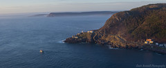 Atlantic Morning Panoramic (Zach Bonnell) Tags: stjohns newfoundland canada canoneos60d morning signalhill fog yongnuo35mmf2 panoramic