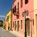 Vibrant street in Archanes, Crete