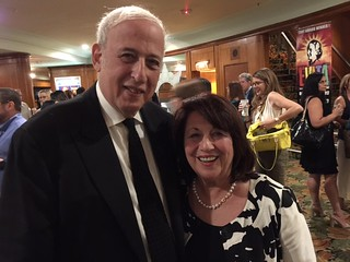 """Actors Playhouse at the Miracle Theater founders Larry and Barbara Stein at the opening night of """"It Shoulda Been You"""""""