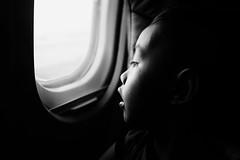 First Time... ✈ (Meljoe San Diego) Tags: meljoesandiego fuji fujifilm x100f shinji travel batanes airplane candid blackwhite