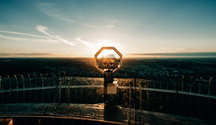 Bright look out (Tim RT) Tags: tim rt stuttgart look out prospect view landmark landscape sun sunset flare blue yello orange sky beautiful awesom tvtower tv tower clouds trave outdoor visual inspired hyperbeast life new picture germany 2017 fuji fujifilm xt xt2 xf1024mm wide angle nature light