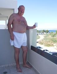 An afternoon mug of tea (pj's memories) Tags: greece kos shorts balcony tea mug surridge