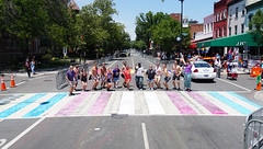 2017.06.10 Painting of #DCRainbowCrosswalks Washington, DC USA 6454