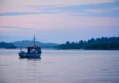 Dawn over Loch Lomond (David Albans) Tags: lochlomond boat sunrise dawn water lake