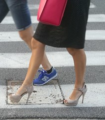Street feet (665) (♠I Love Feet & Shoes♠) Tags: street sexy feet lingerie tights heels highheels sandali scarpe piedi sandals shoes chaussures pieds sandales schuhe sandalen füse ноги сандалий ботинок туфля pie zapatillas sandalias pés πόδια sapatos παπούτσια sandálias σανδάλια calcanhares каблуки mules huf hoof casco οπλή копыто stockings bas strümpfe medias meias κάλτσεσ чулки sabot pantyhose