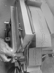 STREET ORGAN [ RETOUCHED ] (EL JOKER) Tags: orgue de barbarie street organ barrel 2017 el joker les allummers prod gimp gmic retouche retouched phone mobile mobil telephone fair alcatel onetouch pop s3 png black white noir et blanc monochrome freak freaky music musica musik fr french france south sud toulouse saint cyprien occitanie 31 manivelles manivelle occitane
