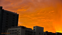 Sunset in Downtown (mgronwold) Tags: dtla losangeles downtown sunset hdr highdynamicrange