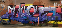 Go Amuse Me (wiredforlego) Tags: graffiti mural streetart urbanart aerosolart illegalart logansquare chicago illinois ord amuse126