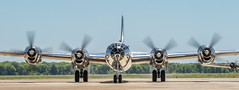 Triumphant - DOC - B29 (4myrrh1) Tags: doc b29 stratofortress ww2 wwii military bomber airforce aircraft airplane aviation airshow afb barksdale la 2017 taxi