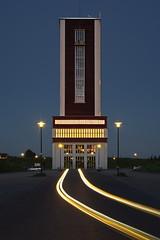 Ostpol (uwe1904) Tags: architektur bergbau deutschland gebäude industriekultur lichtkunst pentaxk1 ruhrpott uwerudowitz zeche bönen nrw d