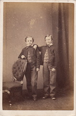 Brothers by John Daniel Cogan (early 1860s)
