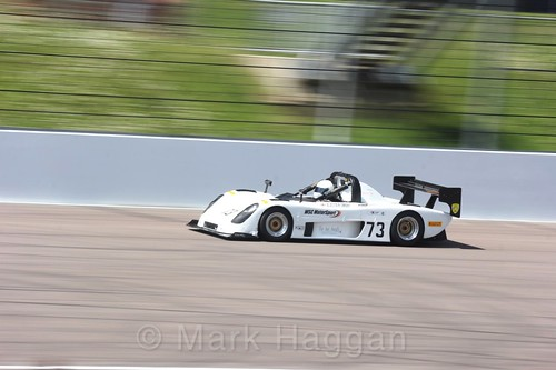 Alastair Smart in the Excool BRSCC OSS Championship at Rockingham, June 2017