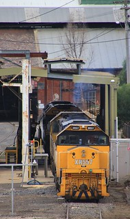 XR557 X41 and G539 are stabled at the SSR fuel point in Bendigo after a routine service