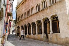 Besalú- Carrer del Comte Bernat Tallaferro (rossendgricasas) Tags: street europe nikon catalonia lightroom medieval tamron catalunya photography urban exploration girona besalú