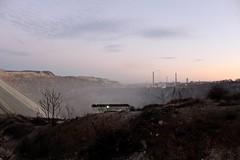 BOR COPPER MINE (cobalt_black) Tags: copper mine surreal extraterrestrial landscape terraforming sunsetsky amateurphotography firstdslr