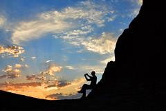 Sunset desert. (Victoria.....a secas.) Tags: irán lutdesert desierto desert atardecer sunset