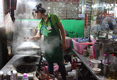 STREET COOKING (dayvmac) Tags: streetscenes asia thailand streetlife cooking bangkok portraits