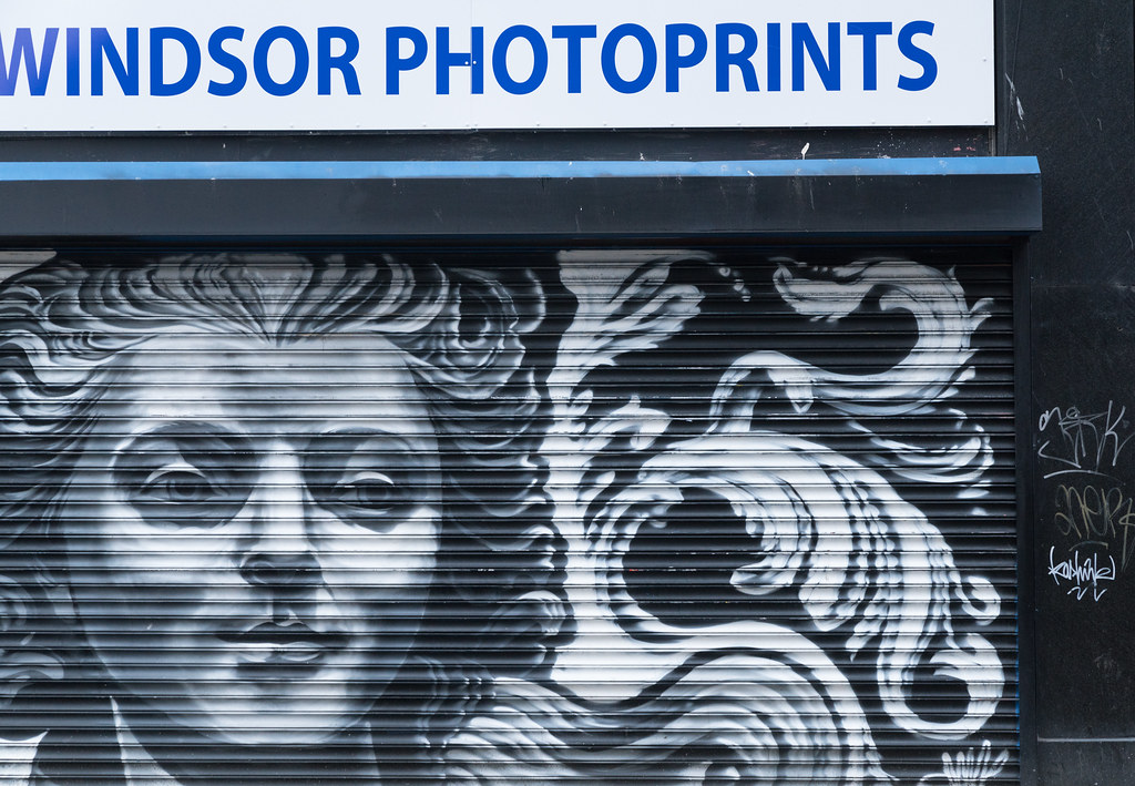STREET ART AND GRAFFITI IN BELFAST [ANYTHING BUT THE FAMOUS MURALS]-129171
