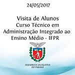 Visita de Alunos do Curso Técnico em Administração Integrado ao Ensino Médio - IFPR