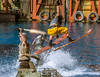 Smokers (matman73072) Tags: universalstudios hollywood losangales california themepark moviestudio waterworld stuntshow stunt jump waterskis