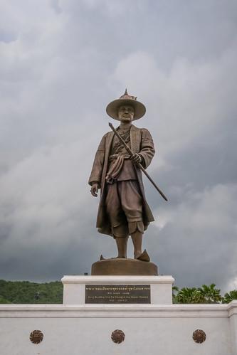 King Buddha Yod Fa Chulalok (Rama 1), Rajabhakri Park, Hua Hin, Prachuap Khiri Khan