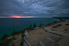 Quit Bluffin (shanahanphotography) Tags: landscape sunset goldenhour pano michigan traversebay blue beautiful pink magichour puremichigan lakemichigan traversecity nature water nd beauty panorama longexposure orange trees acme bluehour summer empire 3stop bay empirebluffs lake clouds yellow penisula upnorth