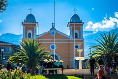 The local church in Cajabamba, Peru.