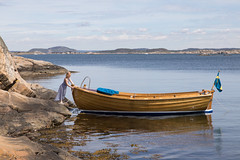 Swedish summer (Per-Karlsson) Tags: sweden swedishwestcoast bohuslän bohuslan outdoor sea archipelago boat julle wooden woodenboat madeofwood