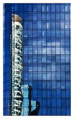 cure d'amincissement (Marie Hacene) Tags: ladéfense paris puteaux reflets immeubles