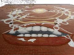 Smokin' (navejo) Tags: montreal quebec canada mural smoking sky