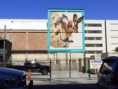 Tucson Mural (galiuros) Tags: mural tucson downtown tucsonarizona ignacio jackalope wildwest