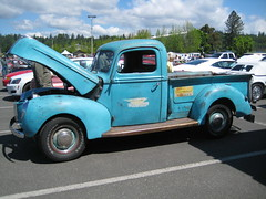 Forty Ford (Hugo-90) Tags: truck auto automobile vehicle monroe washington antique classic 1940 ford pickup standard williamson heating cooling