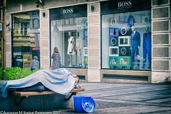 Blue (Aleksandar M. Knezevic Photography) Tags: belgrade beograd serbia srbija documentary social injustice poverty society help human humanity blue street stretphoto urban urbanlife life