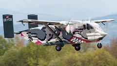 OE-FDI (EDDE Spotter) Tags: oefdi pink aviation short sc7 skyvan 3 eisenachkindel edge eib flugplatz parachute jumper takeoff